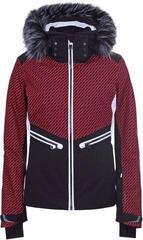 Luhta Janhua Womens Ski Jacket Classic red