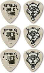 Dunlop James Hetfield White Fang Custom Flow Pick 1.14 6 Pack