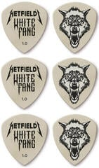Dunlop James Hetfield White Fang Custom Flow Pick 1.00 6 Pack