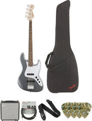 Fender Squier Affinity Series Jazz Bass IL Deluxe SET Slick Silver