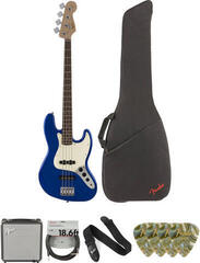 Fender Squier Affinity Series Jazz Bass IL Imperial Blue Deluxe SET