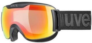 UVEX Downhill 2000 S V Black Mat Variomatic Rainbow Mirror 19/20