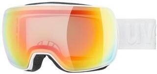 UVEX Compact V White Variomatic Rainbow Mirror 19/20
