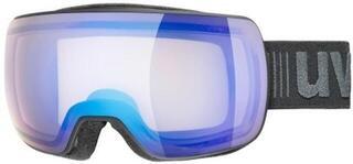 UVEX Compact V Black Mat Variomatic Blue Mirror 19/20