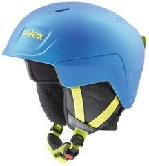UVEX Manic Pro Ski Helmet Blue/Lime Met Mat 51-55 cm 19/20