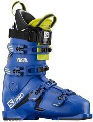 Salomon S/PRO 130 Black/Race Blue/Acid Green