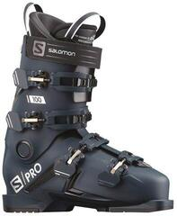 Salomon S/PRO 100 Petrol Blue/Race Blue/Acid Green