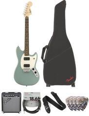 Fender Squier Bullet Mustang HH IL Sonic Grey Deluxe SET