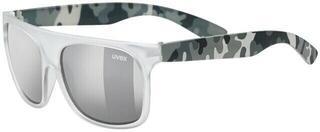 UVEX Sportstyle 511 White Transparent Camo S3