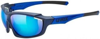 UVEX Sportstyle 710 Blue Mat Metallic S3