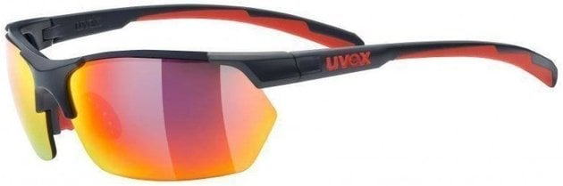 UVEX Sportstyle 114 Grey Red Mat