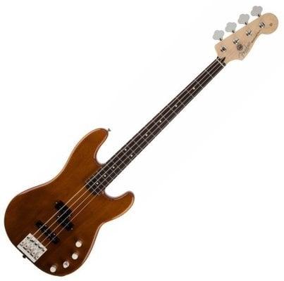 Fender Deluxe Active Precision Bass Okoume RW Natural