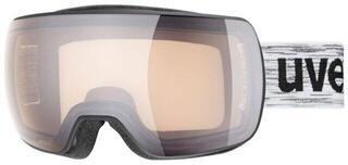 UVEX Compact V Black Mat Variomatic Silver Mirror 19/20