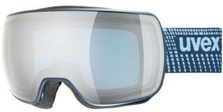 UVEX Compact FM Navy Mat/Mirror Silver 19/20
