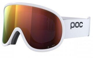 POC Retina Big Clarity Hydrogen White/Spektris Orange 19/20