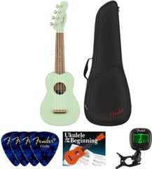 Fender Venice Soprano Ukulele WN Surf Green SET