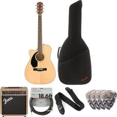 Fender CC-60SCE Concert WN Natural LH Deluxe SET