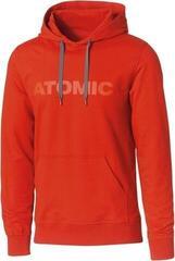 Atomic Alps Mens Hoodie Dark Red