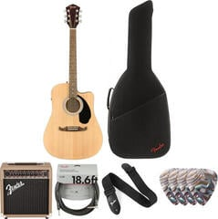 Fender FA-125CE Concert Natural WN Deluxe SET