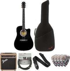 Fender Squier SA-105CE Deluxe SET Black