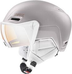 UVEX Hlmt 700 Visor Ski Helmet Rose Mat