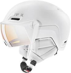UVEX Hlmt 700 Visor Ski Helmet White Matt