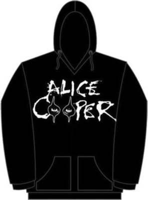 Alice Cooper Unisex Pullover Hoodie: Eyes Logo L