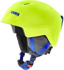 UVEX Manic Pro Ski Helmet Neon Yellow Mat