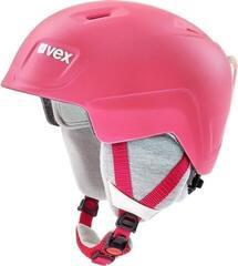 UVEX Manic Pro Ski Helmet Pink Met