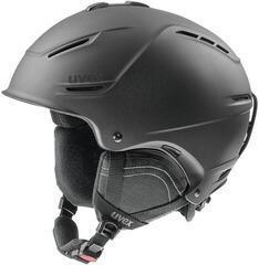 UVEX P1US 2.0 Ski Helmet Black Met Mat 52-55 cm 19/20