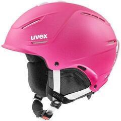 UVEX P1US 2.0 Ski Helmet Pink Met