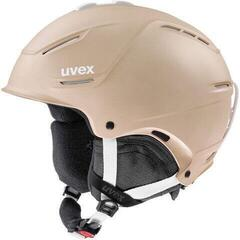 UVEX P1US 2.0 Ski Helmet Prosecco Met Mat 52-55 cm 19/20