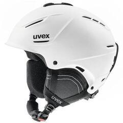 UVEX P1US 2.0 Ski Helmet White Matt