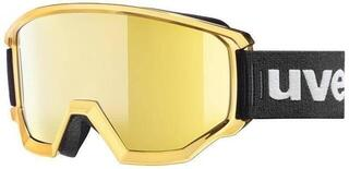 UVEX Athletic FM Chrome Black/Litemirror Gold 18/19
