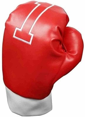 Longridge Boxing Gloves Wood Cover Red
