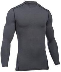Under Armour ColdGear Compression Mock Mens Base Layer Carbon Heather