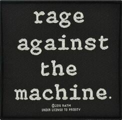 Rock Off Rage Against The Machine Standard Patch Logo (Loose)