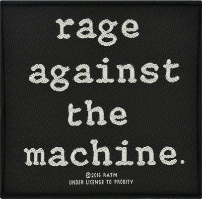 Rage Against The Machine Standard Patch Logo (Loose)