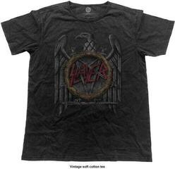 Slayer Unisex Tee Vintage Eagle Black
