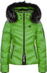 Sportalm Top Womens Ski Jacket Hood with Fur Green