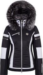 Sportalm Pinia Ski Jacket Hood with Fur Black