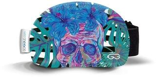 Soggle Goggle Cover Skulls Green