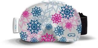 Soggle Goggle Cover Snowflakes Pink
