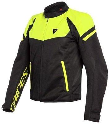 Dainese Bora Air Tex Jacket Black/Fluo Yellow 52