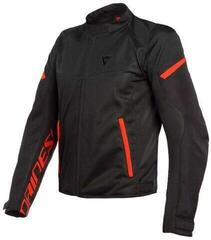 Dainese Bora Air Tex Jacket Black/Fluo Red