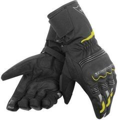 Dainese Tempest Unisex D-Dry Long Gloves Black/Fluo Yellow