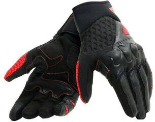 Dainese X-Moto Gloves Black/Fluo Red