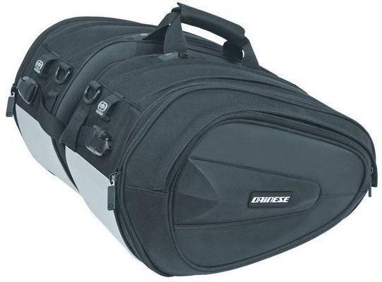 Dainese D-Saddle Motorcycle Bag Stealth Black