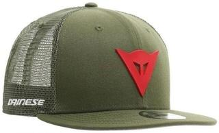 Dainese 9Fifty Trucker Snapback Cap Green/Red