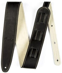 Fender Ball Glove Leather Strap Black